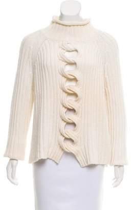 Thakoon Knit Long Sleeve Sweater