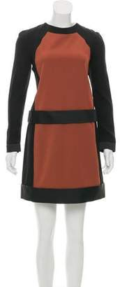 Victoria Beckham Victoria Long Sleeve Mini Dress