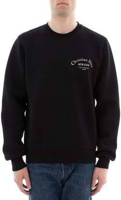 Christian Dior Black Fabric Sweater
