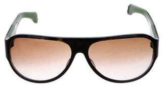 Chrome Hearts Fizzy Aviator Sunglasses