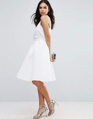 Jessica Wright Textured Prom Skirt