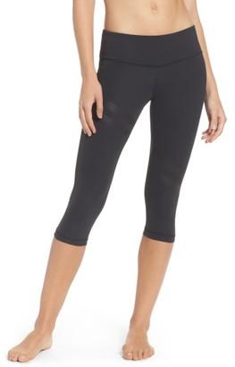 Women's Reebok Linear Capris $60 thestylecure.com