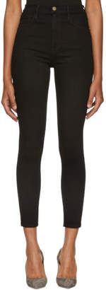 Frame Black Ali High-Rise Jeans