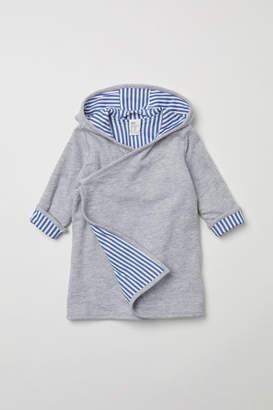 H&M Hooded Bathrobe - Gray
