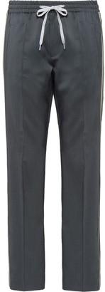 Miu Miu side stripe track trousers