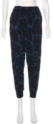 Mikoh Printed High-Rise Skinny Pants