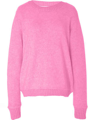 The Elder Statesman Simple Oversized Cashmere Sweater