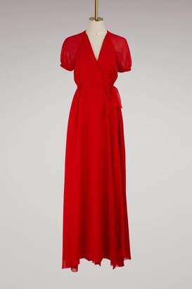 Lanvin Georgette long dress
