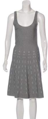 Theory Knit A-Line Dress