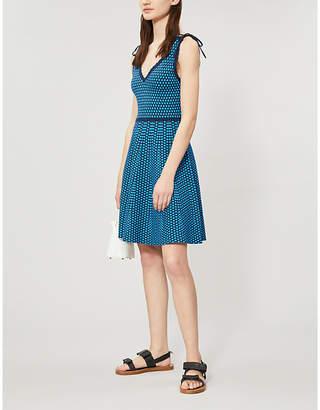 Claudie Pierlot Muscade sleeveless stretch-knit dress