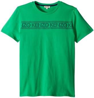 Kenzo Tee Shirt Logo Boy's Clothing