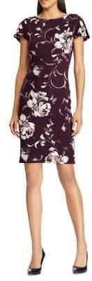 Lauren Ralph Lauren Floral Print Jersey Dress