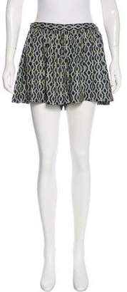 Thakoon Patterned Mini Skort