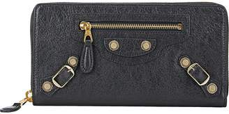 Balenciaga Women's Giant Continental Zip-Around Wallet