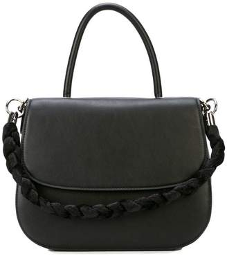 Christian Siriano braided strap tote bag