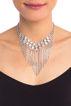 Free Press Crystal Layered Statement Necklace