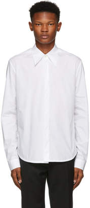 Namacheko White Hidden Button Shirt