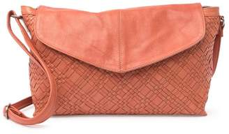 Day & Mood Panna Leather Woven Shoulder Bag