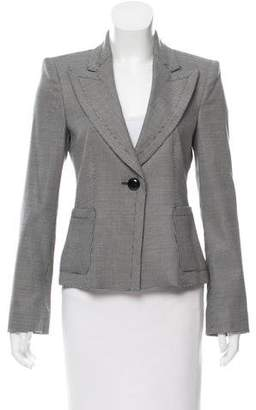 Armani Collezioni Virgin Wool & Silk Blazer