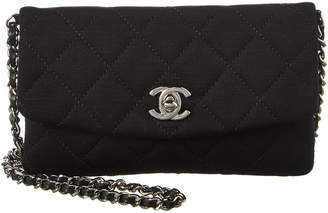 Chanel Black Quilted Fabric Mini Shoulder Bag c9032b9a59ce8