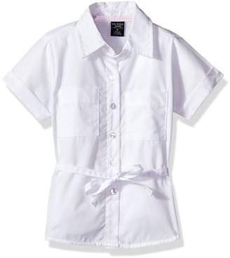 U.S. Polo Assn. Big Girls' Blouse (More Styles Available)