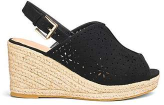 986f9c8fe Dakota Espadrille Shoe Boot Extra Wide EEE Fit