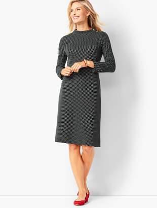 Talbots Mockneck Shift Dress