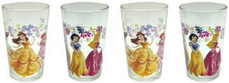 R Squared Disney 4 Piece 8 oz. New Princesses Juice Glass Set