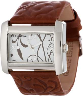 Rockwell Women's VN104 Women Vanessa Brown Patent Leather with White Watch