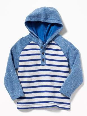 Old Navy French-Rib Hooded Henley for Toddler Boys