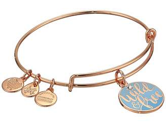 Alex and Ani Color Infusion Words Are Powerful Wild and Free Bangle