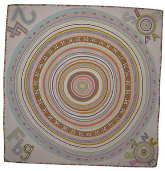 One Kings Lane Vintage HermAs Tohu Bohu Scarf w/Box - The Emporium Ltd.