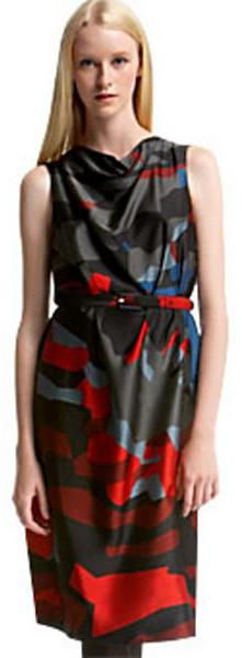 Marc Jacobs Collection Runway Cowl Neck Dress