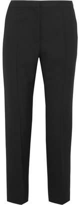 Haider Ackermann - Wool-piqué Slim-leg Pants - Black $680 thestylecure.com