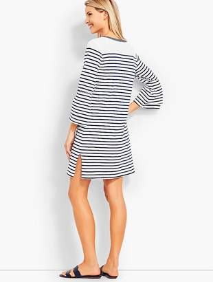 Talbots Bell-Sleeve Cover-Up-Stripe