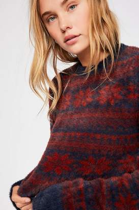 Fp One FP One Cropped Fairisle Pullover Sweater