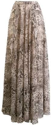 Liu Jo python print full skirt