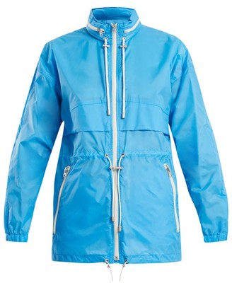 Etoile Isabel Marant Cranden Lightweight Hooded Jacket - Womens - Blue