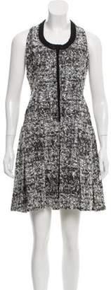 Proenza Schouler Bouclé Knee-Length Dress Black Bouclé Knee-Length Dress