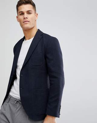 Selected Slim Fit Patch Pocket Blazer In Woven Fabric