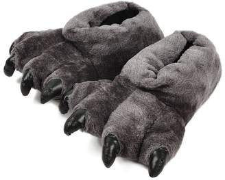 Firstsight Slippers Firstsight Adult Cute Plush Animal Bear Paw Slippers Fuzzy Indoor Claw Shoes