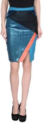 Three floor Knee length skirts