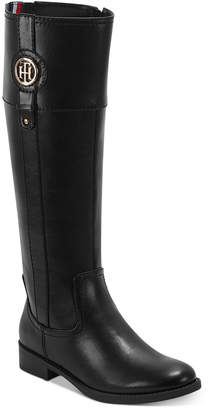 Tommy Hilfiger Women Imina Riding Boots Women Shoes