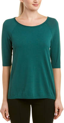 Lafayette 148 New York Elbow-Length Sleeve Sweater