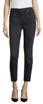 JEN7 by 7 For All Mankind Crystal Trim Skinny Jeans