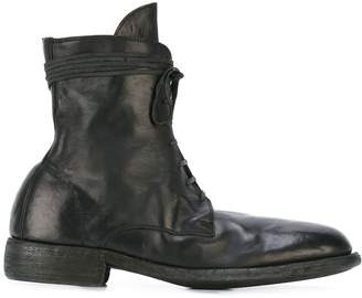 Guidi lace-up boots