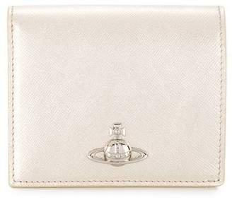 Vivienne Westwood metallic bifold wallet