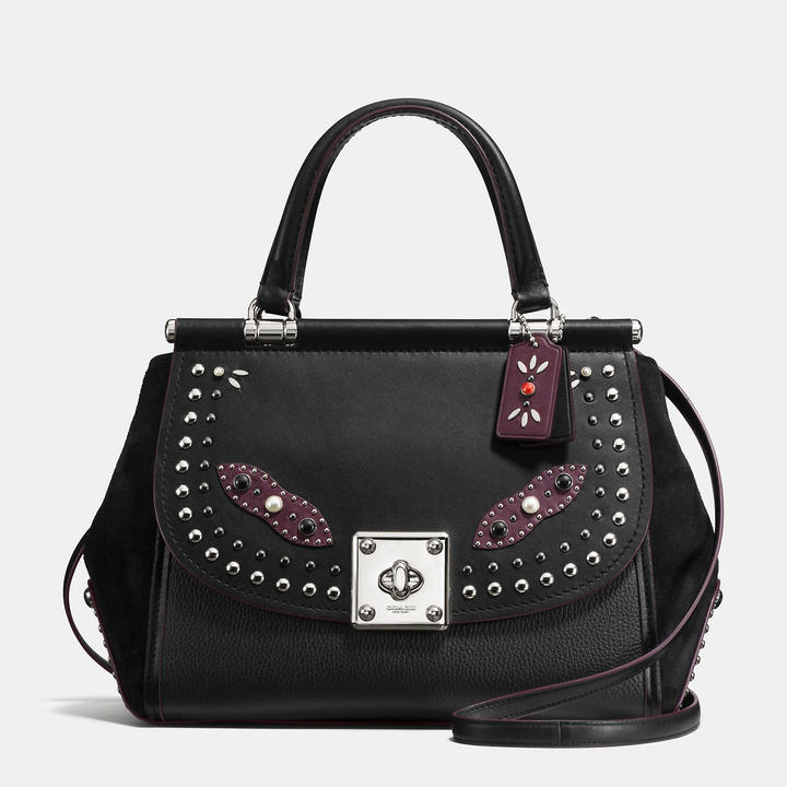 Coach  COACH Coach Western Rivets Drifter Carryall In Glovetanned Leather