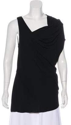 Helmut Lang Sleeveless Cowl Neck Top