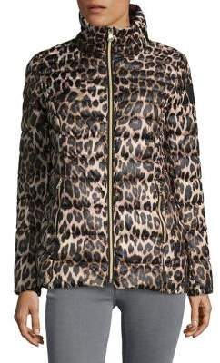 Vince Camuto High Neck Zippered Jacket